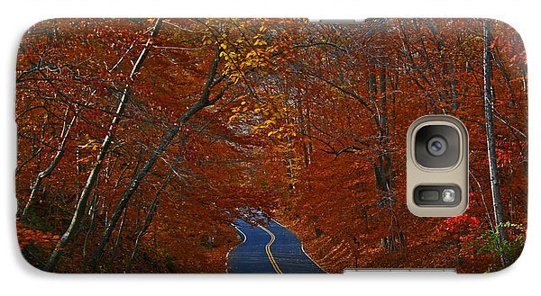 Galaxy Case featuring the photograph Country Road by Andy Lawless