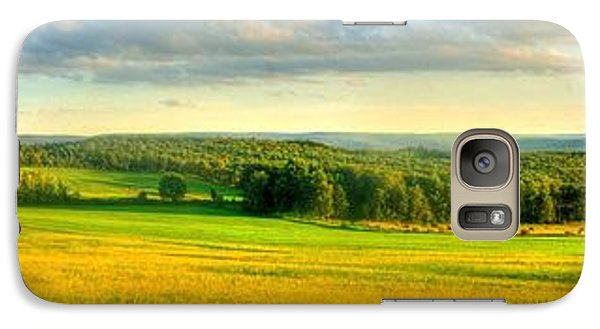 Galaxy Case featuring the photograph Country Road Panorama by Ed Roberts