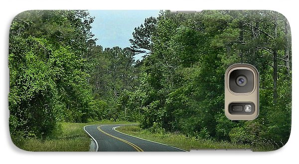 Galaxy Case featuring the photograph Country Road by Victor Montgomery