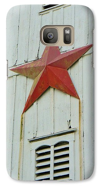 Galaxy Case featuring the photograph Country Star by Jean Goodwin Brooks