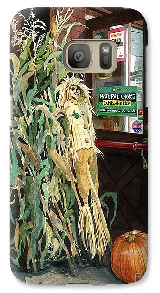Galaxy Case featuring the painting Country Store by Barbara Jewell