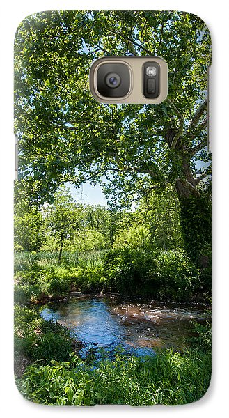 Galaxy Case featuring the photograph Country Tranquility by Jim Moore