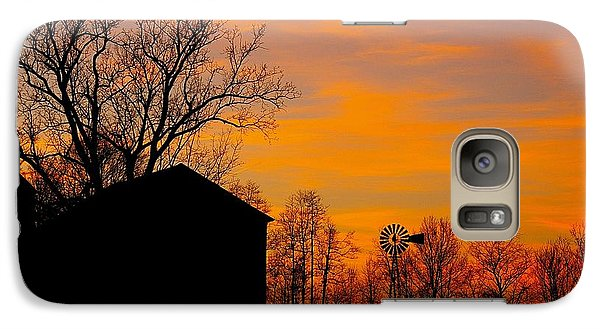 Galaxy Case featuring the photograph Country View by Randy Pollard