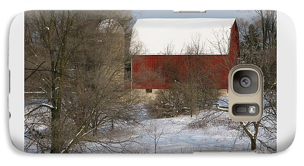 Galaxy Case featuring the photograph Country Winter by Ann Horn