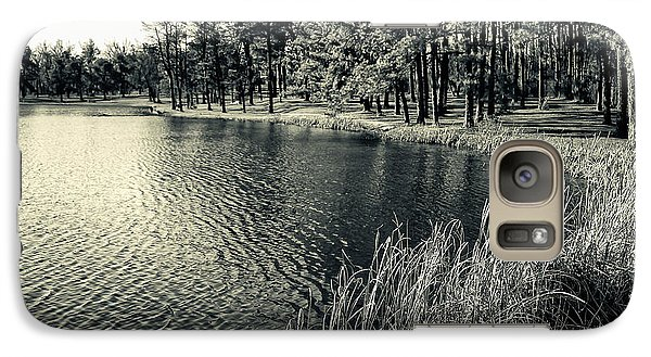 Galaxy Case featuring the photograph Cove by Greg Jackson