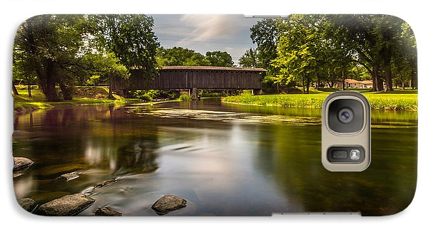 Covered Bridge Long Exposure Galaxy S7 Case