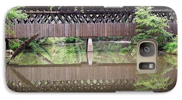 Galaxy Case featuring the photograph Covered Bridge by Pete Trenholm