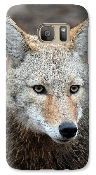 Galaxy Case featuring the photograph Coyote by Athena Mckinzie