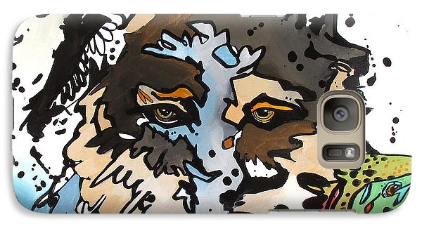 Galaxy Case featuring the painting Coyote  by Nicole Gaitan