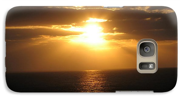 Galaxy Case featuring the photograph Cozumel Mexico Sunset by Jean Marie Maggi