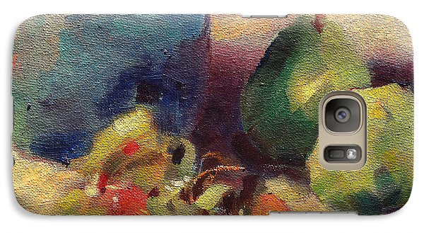 Galaxy Case featuring the painting Crab Apples And Pears by Michelle Abrams