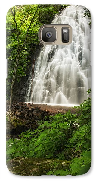 Galaxy Case featuring the photograph Crabtree Falls by Photography  By Sai