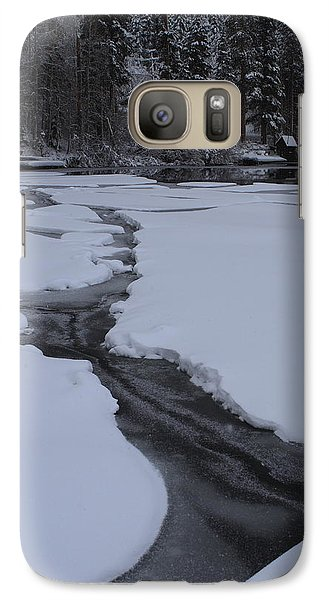 Galaxy Case featuring the photograph Cracked Ice  by Duncan Selby