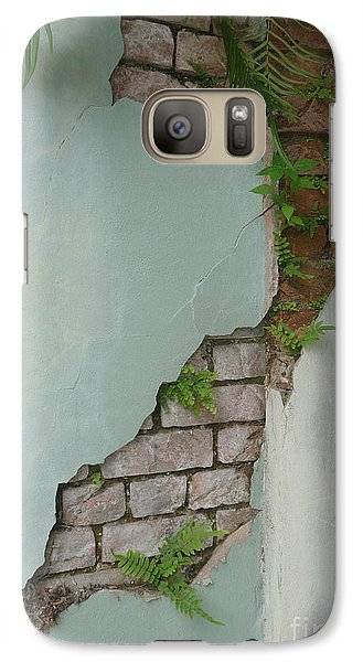 Galaxy Case featuring the photograph Cracked by Valerie Reeves