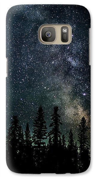 Galaxy Case featuring the photograph Cranbrook Milkyway by Rob Tullis