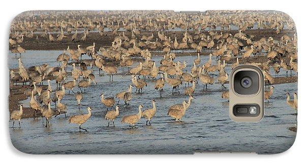 Galaxy Case featuring the photograph Crane River by Alicia Knust