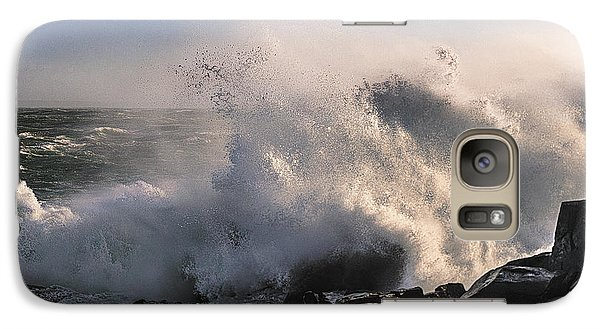 Galaxy Case featuring the photograph Crashing Surf by Marty Saccone