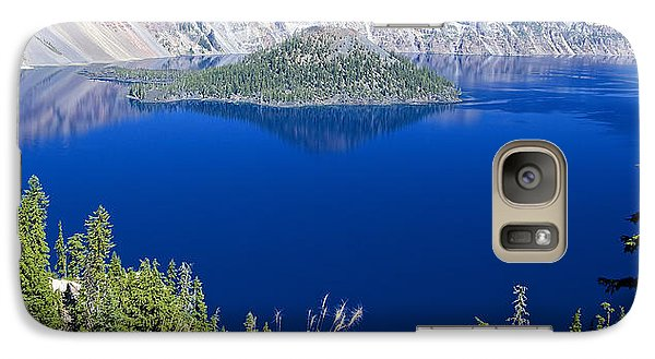 Galaxy Case featuring the photograph Crater Lake Panorama 090914b by Todd Kreuter