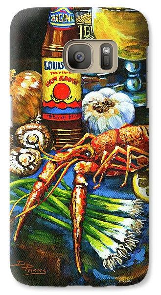 Crawfish Fixin's Galaxy S7 Case