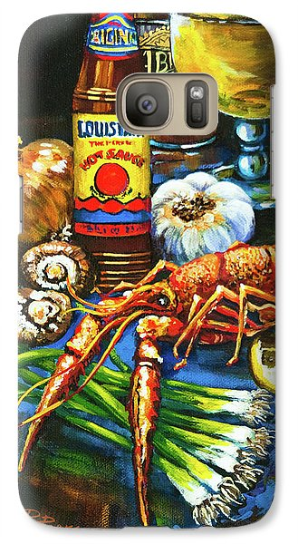 Galaxy Case featuring the painting Crawfish Fixin's by Dianne Parks