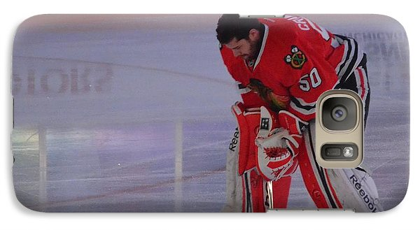 Galaxy Case featuring the photograph Crawford During The Anthem by Melissa Goodrich