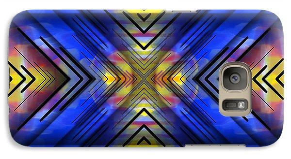 Galaxy Case featuring the digital art Crazy Daze by Brian Johnson
