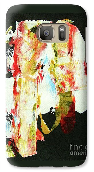 Galaxy Case featuring the painting Crazy Horse  An American Hero by Roberto Prusso