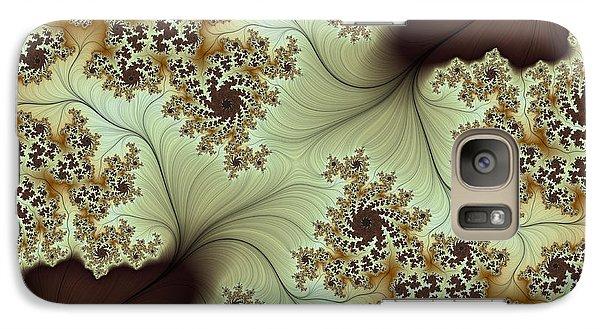 Galaxy Case featuring the digital art Creamed Coffee by Lea Wiggins