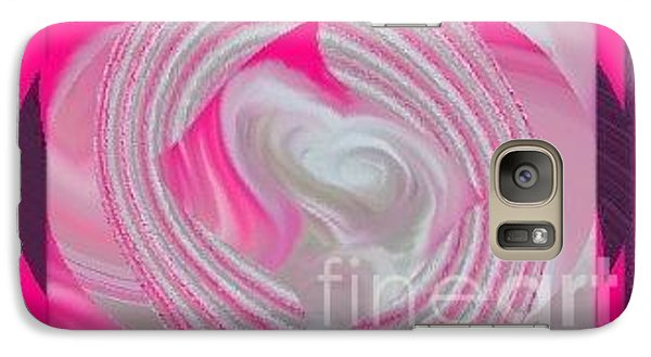 Galaxy Case featuring the digital art Callie by Catherine Lott
