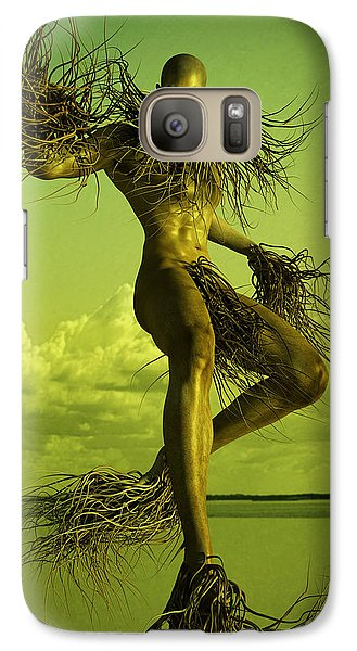 Galaxy Case featuring the digital art Creature by Matt Lindley