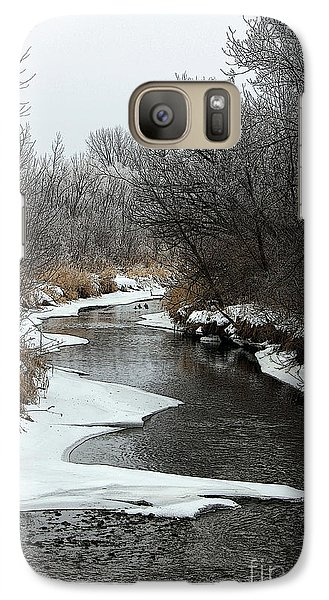 Galaxy Case featuring the photograph Creek Mood by Debbie Hart