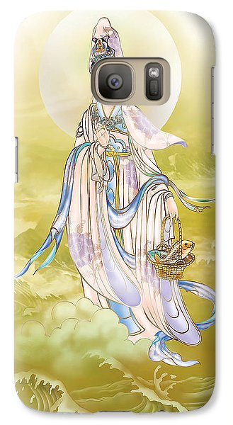 Galaxy Case featuring the photograph Creel Kuan Yin by Lanjee Chee