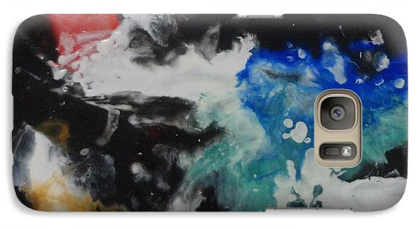 Galaxy Case featuring the painting Crescendo by Elaine Elliott