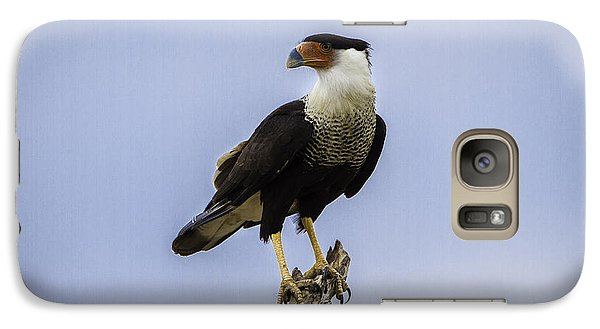 Crested Caracara Galaxy S7 Case