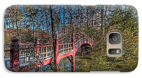 Galaxy Case featuring the photograph Crim Dell Bridge by Jerry Gammon