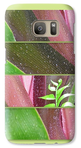 Galaxy Case featuring the photograph Crinum Lily Collage2 by Darla Wood