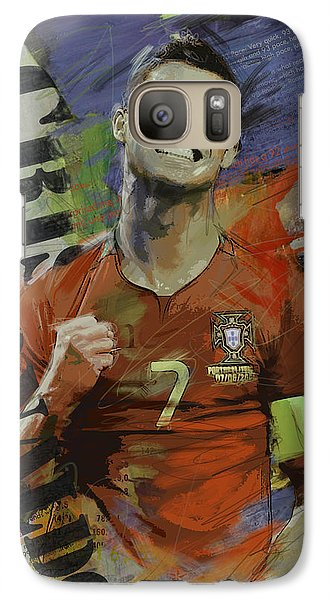 Cristiano Ronaldo - B Galaxy Case by Corporate Art Task Force