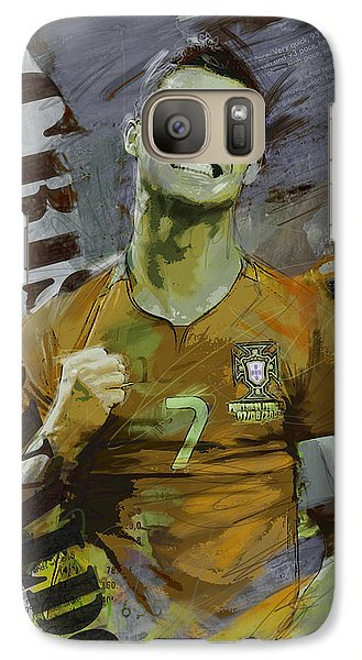 Cristiano Ronaldo Galaxy Case by Corporate Art Task Force