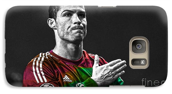 Cristiano Ronaldo Galaxy Case by Marvin Blaine