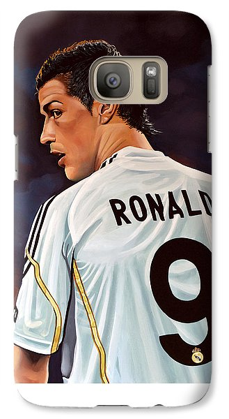 Sports Galaxy S7 Case - Cristiano Ronaldo by Paul Meijering