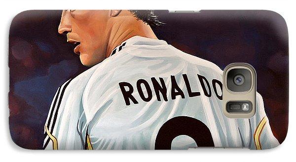 Realistic Galaxy S7 Case - Cristiano Ronaldo by Paul Meijering