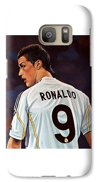 Cristiano Ronaldo Galaxy Case by Paul Meijering