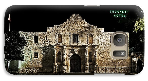 Galaxy Case featuring the photograph Crockett Hotel by Andy Crawford