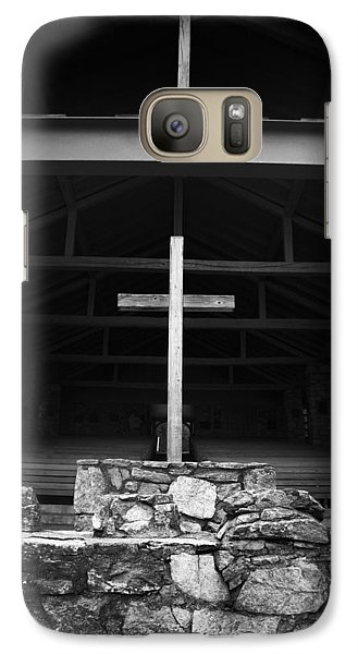 Galaxy Case featuring the photograph Cross 2 by Kelly Hazel