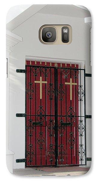 Key West Church Doors Galaxy S7 Case