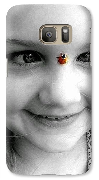 Galaxy Case featuring the photograph Cross-eyed For Ladybugs by Faith Williams