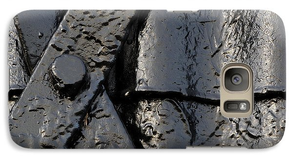 Galaxy Case featuring the photograph Cross Over by Wendy Wilton