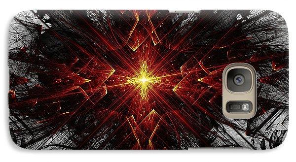 Galaxy Case featuring the digital art Crossed by Arlene Sundby