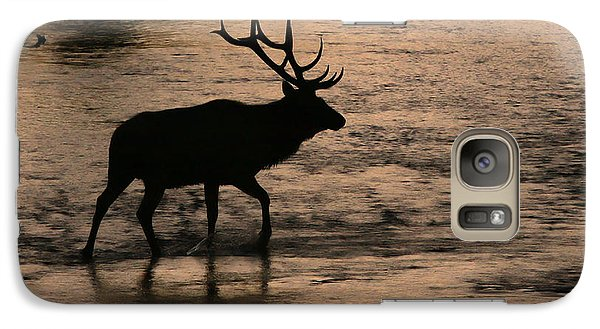 Galaxy Case featuring the photograph Crossing The Madison by Clare VanderVeen