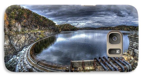 Galaxy Case featuring the photograph Croton Reservoir Dam by Rafael Quirindongo